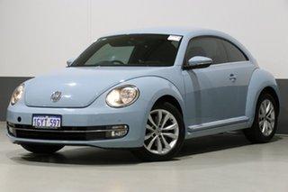 2013 Volkswagen Beetle 1L Blue 6 Speed Manual Hatchback.