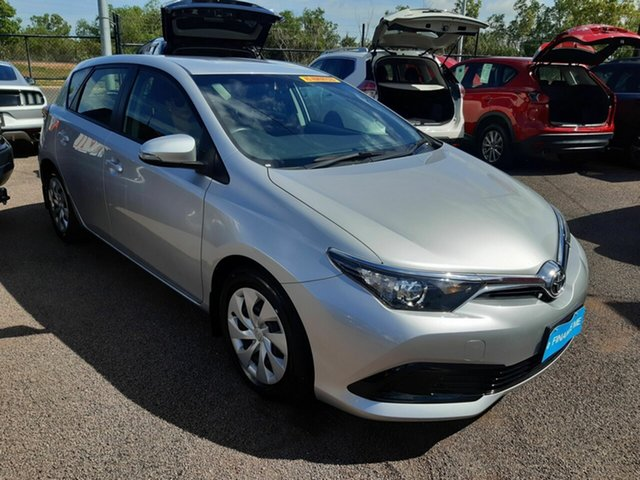 Used Toyota Corolla ZRE182R Ascent S-CVT, 2017 Toyota Corolla ZRE182R Ascent S-CVT Silver 7 Speed Constant Variable Hatchback