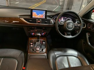 2013 Audi A6 4G MY13 S Tronic Quattro Silver 7 Speed Sports Automatic Dual Clutch Sedan.