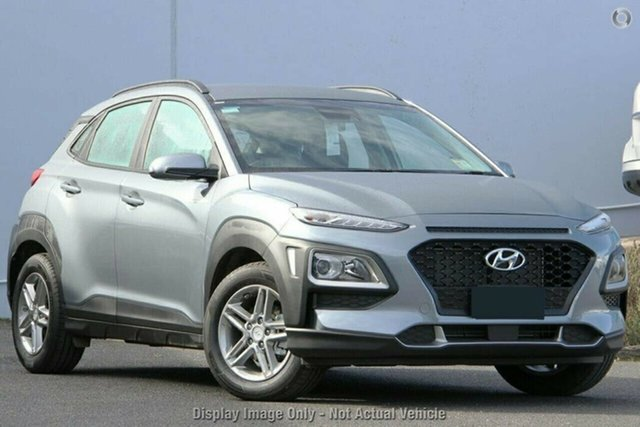 New Hyundai Kona OS.3 MY20 Active 2WD, 2019 Hyundai Kona OS.3 MY20 Active 2WD Lake Silver 6 Speed Sports Automatic Wagon