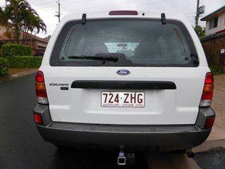 2005 Ford Escape ZB XLS White 4 Speed Automatic Wagon