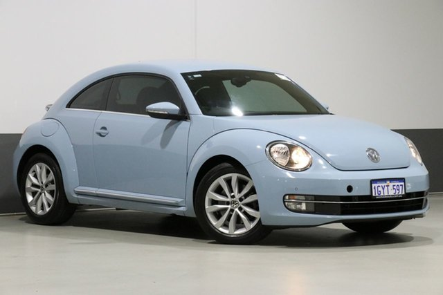 Used Volkswagen Beetle 1L , 2013 Volkswagen Beetle 1L Blue 6 Speed Manual Hatchback