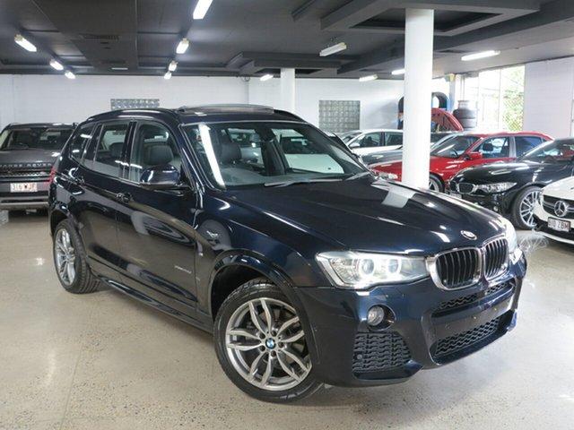 Used BMW X3 F25 LCI MY0414 xDrive20d Steptronic, 2014 BMW X3 F25 LCI MY0414 xDrive20d Steptronic Carbon Black 8 Speed Automatic Wagon