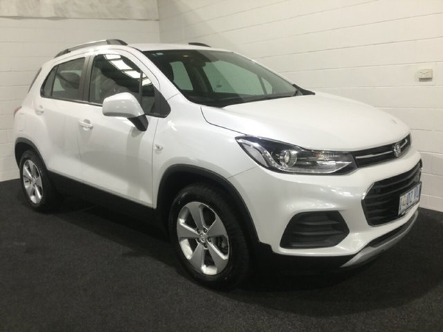 Used Holden Trax TJ MY19 LS, 2018 Holden Trax TJ MY19 LS White 6 Speed Automatic Wagon