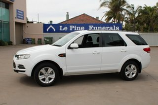 2012 Ford Territory SZ TX (RWD) White 6 Speed Automatic Wagon