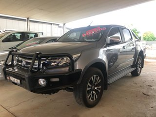 2017 Holden Colorado RG MY17 LTZ (4x4) Satin Steel Grey 6 Speed Automatic Crew Cab Pickup
