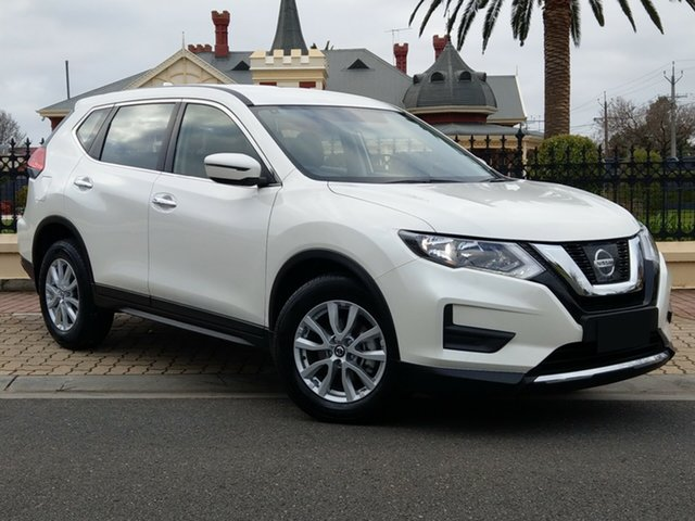Demo Nissan X-Trail T32 Series II ST X-tronic 2WD, 2019 Nissan X-Trail T32 Series II ST X-tronic 2WD Ivory Pearl 7 Speed Constant Variable Wagon