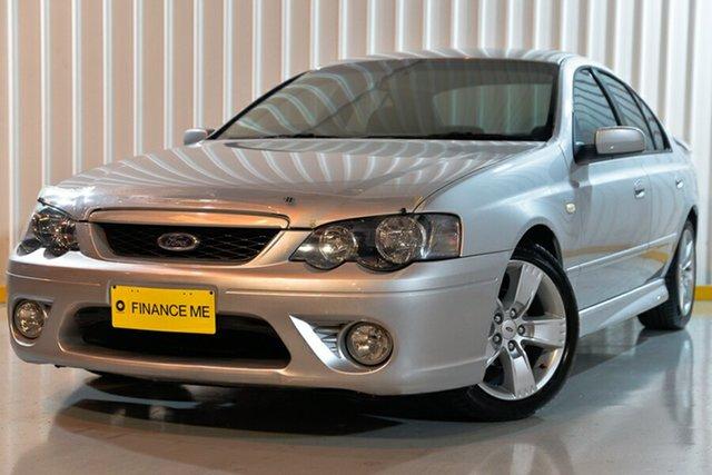 Used Ford Falcon BF Mk II XR6, 2007 Ford Falcon BF Mk II XR6 Silver 4 Speed Sports Automatic Sedan