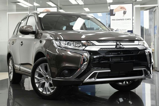 New Mitsubishi Outlander ZL MY20 ES 2WD, 2019 Mitsubishi Outlander ZL MY20 ES 2WD Ironbark 6 Speed Constant Variable Wagon