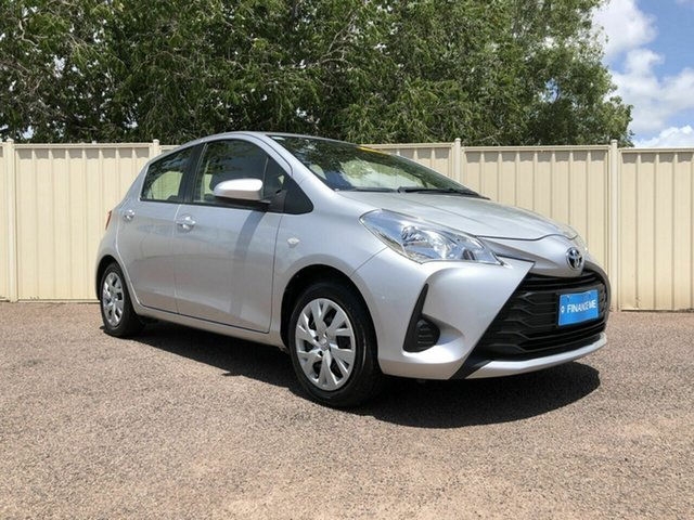 Used Toyota Yaris NCP130R Ascent, 2017 Toyota Yaris NCP130R Ascent Silver 4 Speed Automatic Hatchback