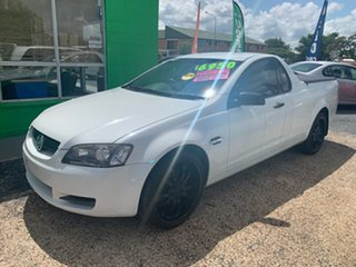 2007 Holden Commodore VE Omega White 4 Speed Automatic Utility.