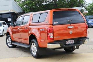 2014 Holden Colorado RG MY14 LTZ Crew Cab Orange 6 Speed Sports Automatic Utility.