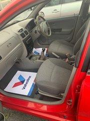 2004 Kia Rio BC Red 5 Speed Manual Hatchback