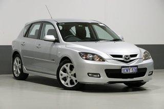 2007 Mazda 3 BK MY06 Upgrade SP23 Silver 5 Speed Auto Activematic Hatchback.