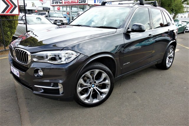 Used BMW X5 F15 xDrive30d Seaford, 2014 BMW X5 F15 xDrive30d Grey 8 Speed Sports Automatic Wagon