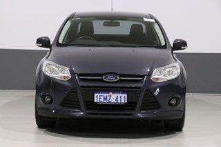 2013 Ford Focus LW MK2 Trend Grey 6 Speed Automatic Sedan.