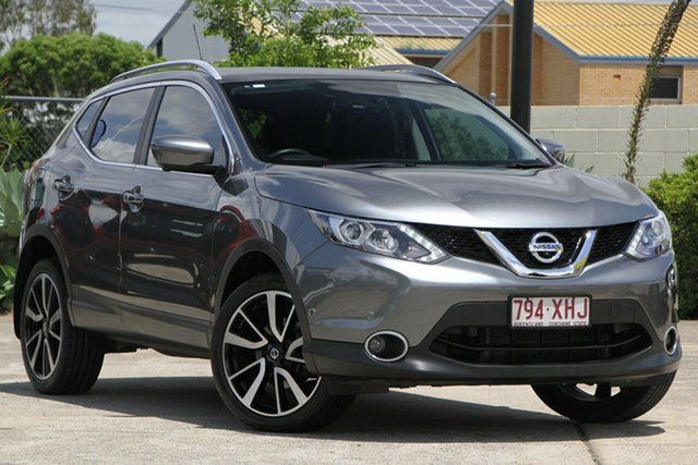 Used Nissan Qashqai J11 TI, 2017 Nissan Qashqai J11 TI Gun Metallic 6 Speed Manual Wagon