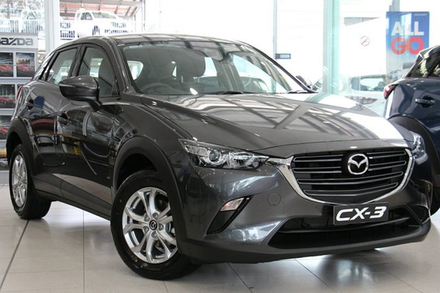 New Mazda CX-3 DK2W76 Maxx SKYACTIV-MT FWD Sport, 2019 Mazda CX-3 DK2W76 Maxx SKYACTIV-MT FWD Sport Machine Grey 6 Speed Manual Wagon