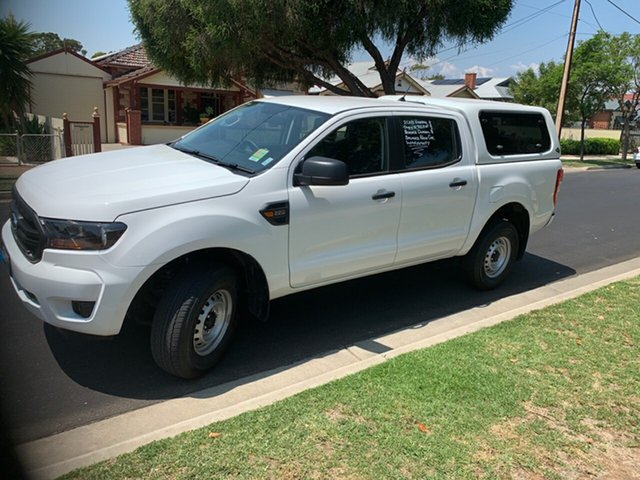 Used Ford Ranger PX MkIII 2019.00MY XL Pick-up Double Cab, 2018 Ford Ranger PX MkIII 2019.00MY XL Pick-up Double Cab Arctic White 6 Speed Sports Automatic