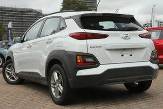 2018 Hyundai Kona OS Active (FWD) Chalk White 6 Speed Automatic Wagon.