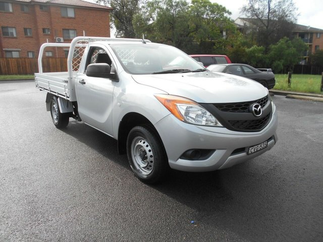 Used Mazda BT-50 MY13 XT (4x2), 2014 Mazda BT-50 MY13 XT (4x2) Silver 6 Speed Manual Cab Chassis
