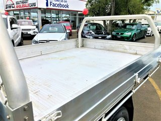 2006 Ford Falcon BF Mk II XL Super Cab White 4 Speed Automatic Cab Chassis
