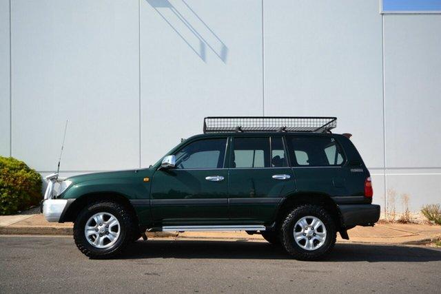 Used Toyota Landcruiser HDJ100R GXL (4x4), 2000 Toyota Landcruiser HDJ100R GXL (4x4) Green 5 Speed Manual 4x4 Wagon
