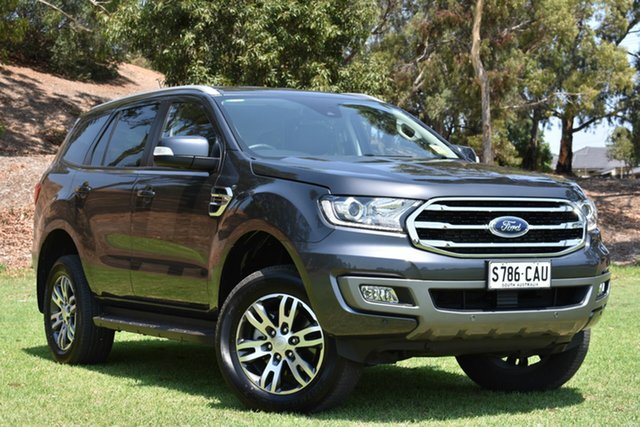 Used Ford Everest UA II 2019.00MY Trend RWD, 2019 Ford Everest UA II 2019.00MY Trend RWD Grey 10 Speed Sports Automatic Wagon