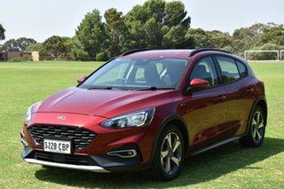 2019 Ford Focus SA 2019.25MY Active Red 8 Speed Automatic Hatchback