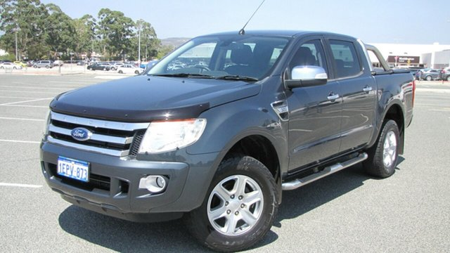 Used Ford Ranger PX XLT Double Cab, 2014 Ford Ranger PX XLT Double Cab Grey 6 Speed Sports Automatic Utility