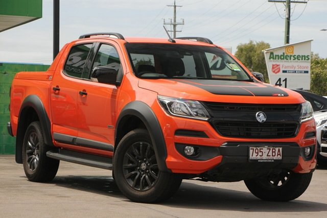Used Holden Colorado RG MY20 Z71 Pickup Crew Cab, 2019 Holden Colorado RG MY20 Z71 Pickup Crew Cab Orange Crush 6 Speed Sports Automatic Utility