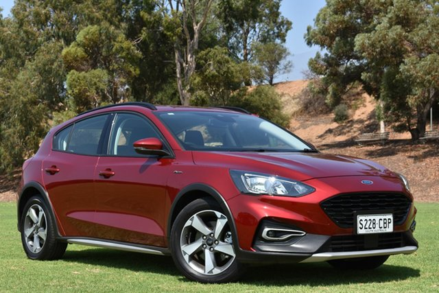 Used Ford Focus SA 2019.25MY Active, 2019 Ford Focus SA 2019.25MY Active Red 8 Speed Automatic Hatchback