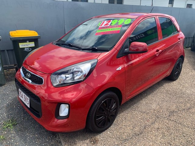 Used Kia Picanto TA MY17 SI, 2016 Kia Picanto TA MY17 SI Red 4 Speed Automatic Hatchback