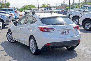 2015 Mazda 3 BM5438 SP25 SKYACTIV-Drive White 6 Speed Sports Automatic Hatchback.