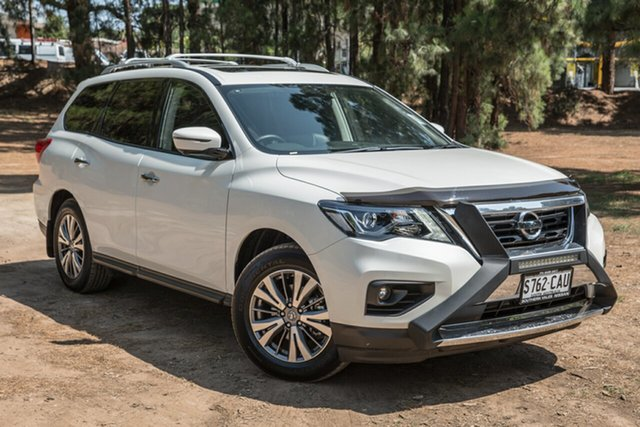 Demo Nissan Pathfinder R52 Series III MY19 ST-L X-tronic 4WD, 2019 Nissan Pathfinder R52 Series III MY19 ST-L X-tronic 4WD Ivory Pearl 1 Speed Constant Variable