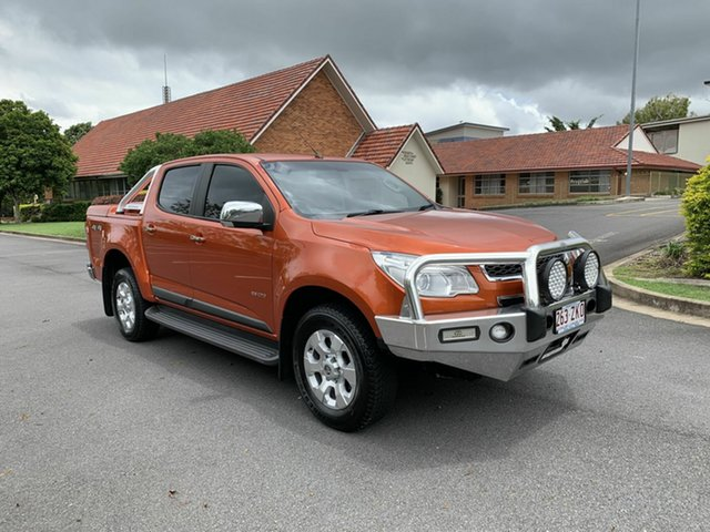 Used Holden Colorado RG LTZ, 2014 Holden Colorado RG LTZ Orange 5 Speed Manual Dual Cab