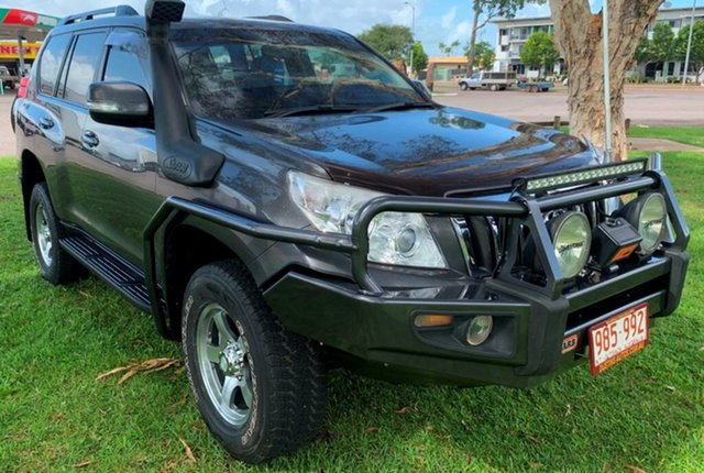 Used Toyota Landcruiser Prado KDJ150R GXL, 2011 Toyota Landcruiser Prado KDJ150R GXL Grey 6 Speed Manual Wagon