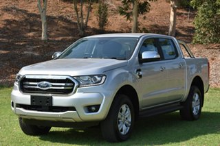 2018 Ford Ranger PX MkIII 2019.00MY XLT Pick-up Double Cab Silver 6 Speed Sports Automatic Utility