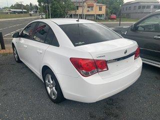 2010 Holden Cruze CD White 6 Speed Manual Sedan
