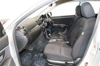 2007 Mazda 3 BK MY06 Upgrade SP23 Silver 5 Speed Auto Activematic Hatchback