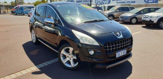 Used Peugeot 3008 T8 XTE SUV, 2010 Peugeot 3008 T8 XTE SUV Black 6 Speed Sports Automatic Hatchback
