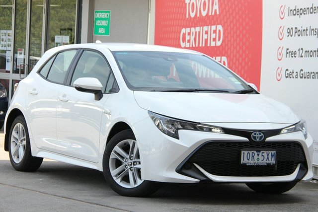 Used Toyota Corolla ZWE211R Ascent Sport E-CVT Hybrid, 2019 Toyota Corolla ZWE211R Ascent Sport E-CVT Hybrid 10 Speed Constant Variable Hatchback Hybrid