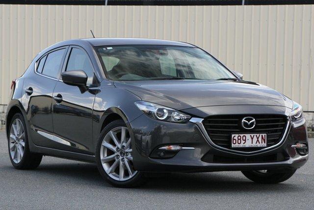 Used Mazda 3 BN5436 SP25 SKYACTIV-MT, 2016 Mazda 3 BN5436 SP25 SKYACTIV-MT Grey 6 Speed Manual Hatchback