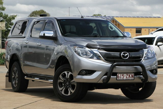 Used Mazda BT-50 UR0YF1 XTR, 2015 Mazda BT-50 UR0YF1 XTR Grey 6 Speed Sports Automatic Utility