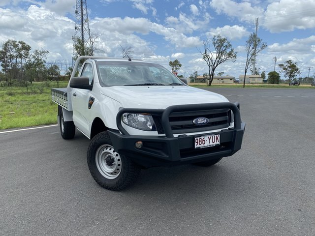 Used Ford Ranger PX XL, 2015 Ford Ranger PX XL White 6 Speed Sports Automatic Cab Chassis
