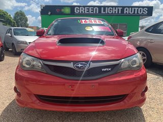 2010 Subaru Impreza wrx Red 6 Speed Manual Sedan.