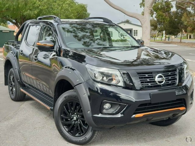 Demo Nissan Navara D23 S4 MY19 N-TREK, 2019 Nissan Navara D23 S4 MY19 N-TREK Cosmic Black 7 Speed Sports Automatic Utility