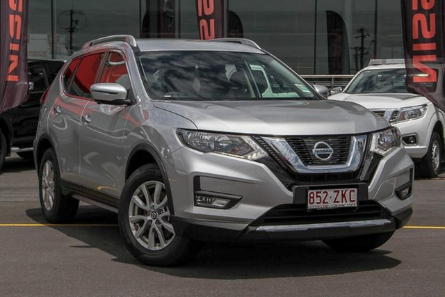 Demo Nissan X-Trail T32 Series II ST-L X-tronic 2WD, 2019 Nissan X-Trail T32 Series II ST-L X-tronic 2WD Brilliant Silver 7 Speed Constant Variable Wagon