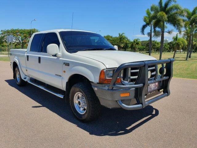 Used Ford F250  XLT, 2001 Ford F250 XLT White 4 Speed Automatic Utility