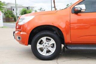 2014 Holden Colorado RG MY14 LTZ Crew Cab Orange 6 Speed Sports Automatic Utility